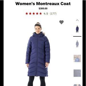Marmot Below Knee 700 Fill Down Jacket Black